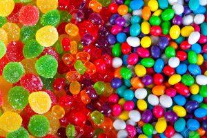 الحلويات النكهات الذهبية